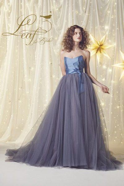 Leaf307 Blue×Gray